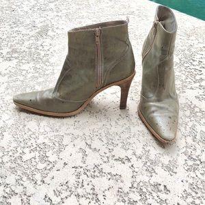 Gorgeous leather ZARA Booties